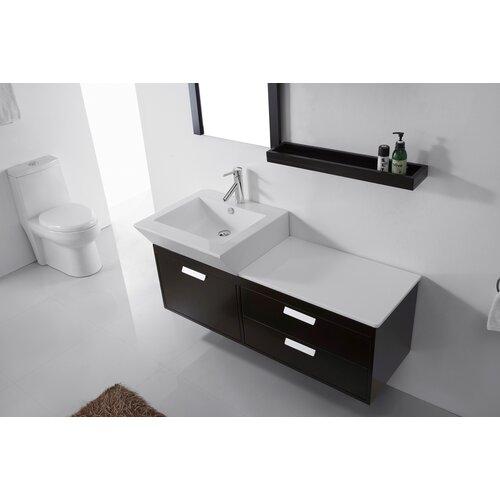 Ultra Modern Series 52 Single Bathroom Vanity Set With