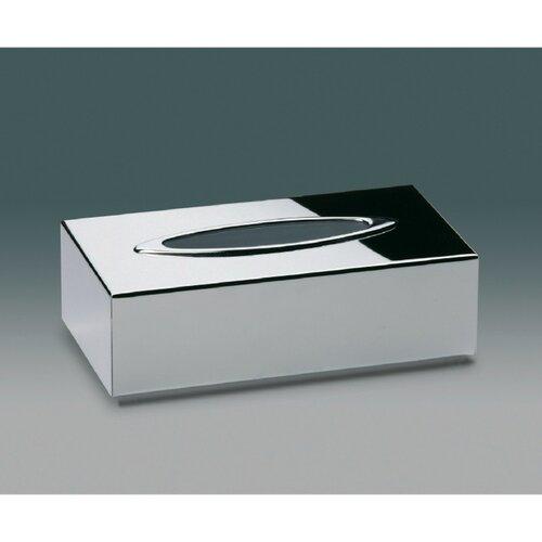 chrome kleenex box holder 2