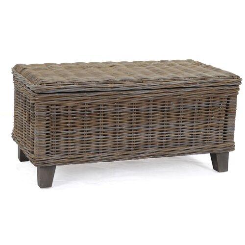 rattan storage coffee table 2