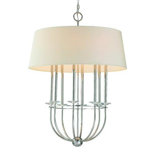 Foyer Drum Lighting : Porter light drum foyer pendant wayfair
