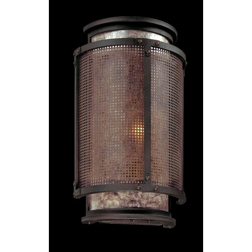 troy lighting copper mountain 1 light wall sconce. Black Bedroom Furniture Sets. Home Design Ideas