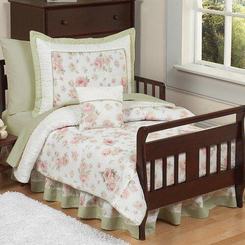 Riley's Roses 5 Piece Toddler Bedding Set | Wayfair