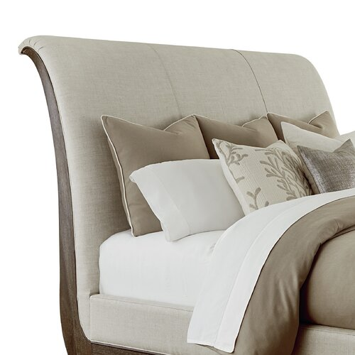 a r t st germain upholstered sleigh bed amp reviews wayfair a r t st germain 4 pc queen upholstered platform sleigh