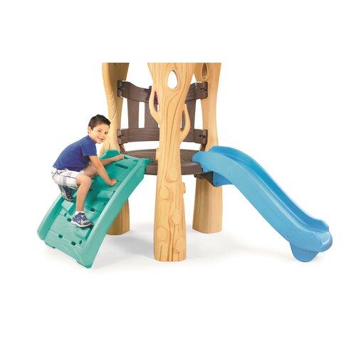 Little Tikes Tree House Swing Set Amp Reviews Wayfair