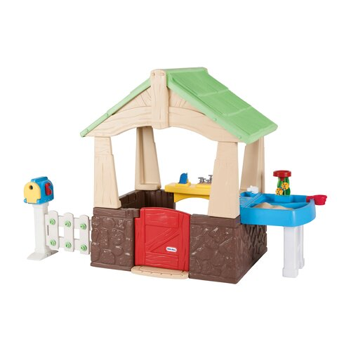 little tikes deluxe home and garden playhouse reviews