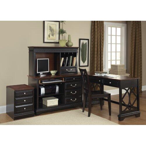 black granite with black cabinets