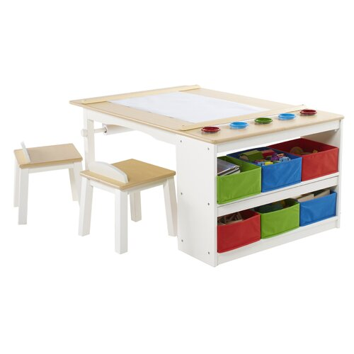 art kids arts and crafts center table wayfair. Black Bedroom Furniture Sets. Home Design Ideas