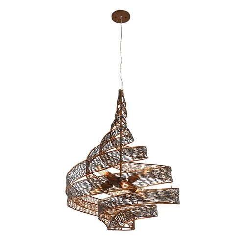 Varaluz Flow 6 Light Foyer Pendant Amp Reviews Wayfair
