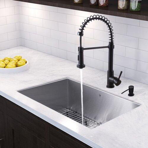 30 inch undermount single bowl 16 gauge stainless steel for 2 kitchen ct edison nj