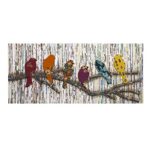Camara Batik Bird Wall Décor