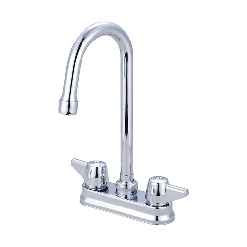 Double Handle Bar/Laundry Faucet by Central Brass