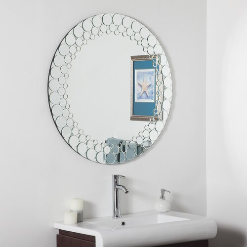 Decor Wonderland Circles Wall Mirror & Reviews
