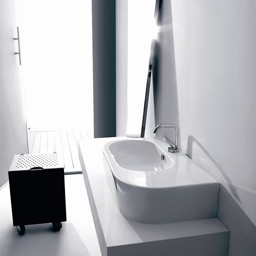 Ws Bath Collections Kerasan Flo Wall Mounted Vessel