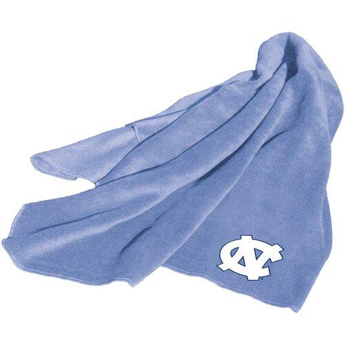 Logo Chairs NCAA North Carolina Fleece Throw