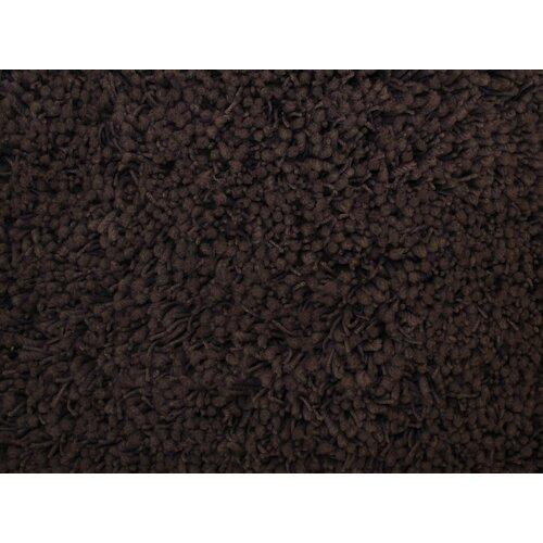 Shag Plus Dark Brown Indoor Area Rug