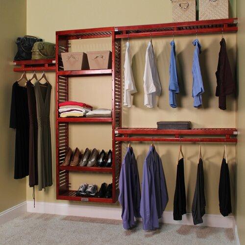 John Louis Home 12 Quot Deep Simplicity Closet Organizer Set