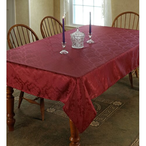European Damask Tablecloth