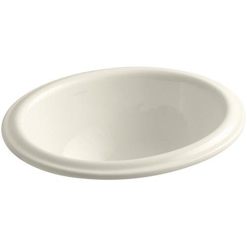 Kohler Intaglio Drop-In Bathroom Sink