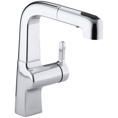 Kohler Evoke Single-Hole Kitchen Sink Faucet with 8