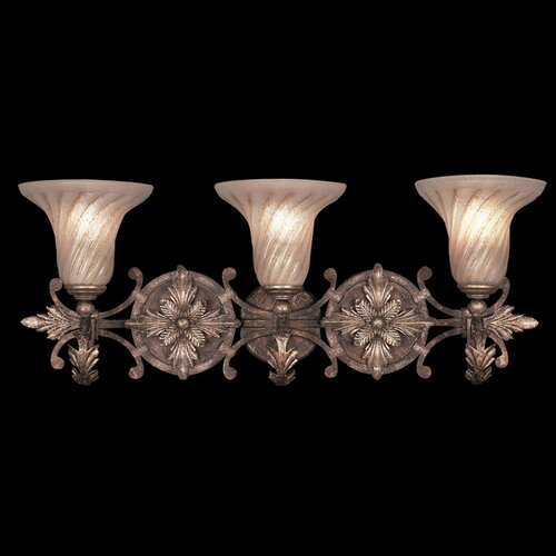 Fine Art Bathroom Lighting: Vaxcel Bellagio 3 Light Vanity Light & Reviews