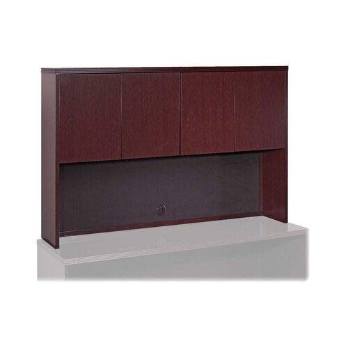 Lorell Lorell 88000 Fluted Edge Veneer Furniture , Mahogany