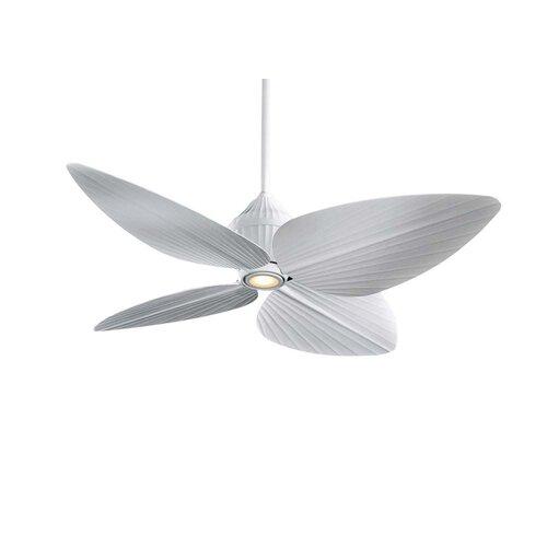 Minka Aire 52 Gauguin Tropical 4 Blade Indoor / Outdoor Ceiling Fan