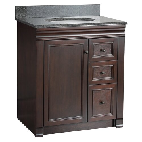 shawna 30 bathroom vanity cabinet only by hazelwood home