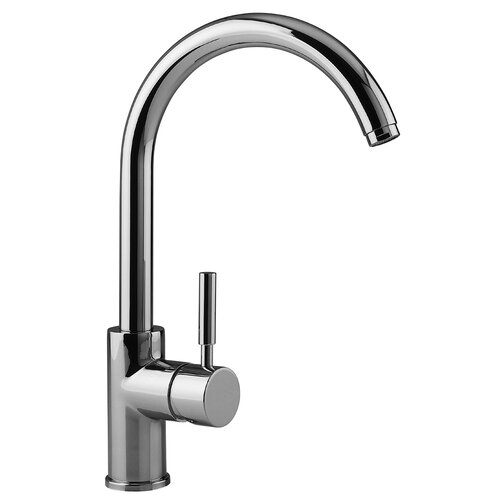 high arch kitchen faucet cromo single handle single hole theo high arch kitchen faucet wayfair 3237