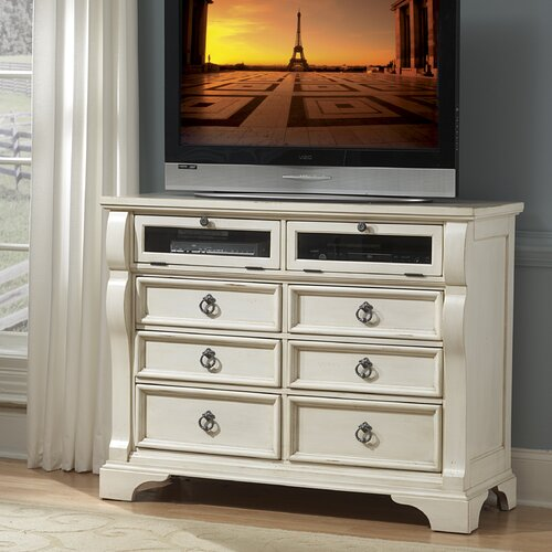 Carlisle 6-Drawer Media Chest by American Woodcrafters