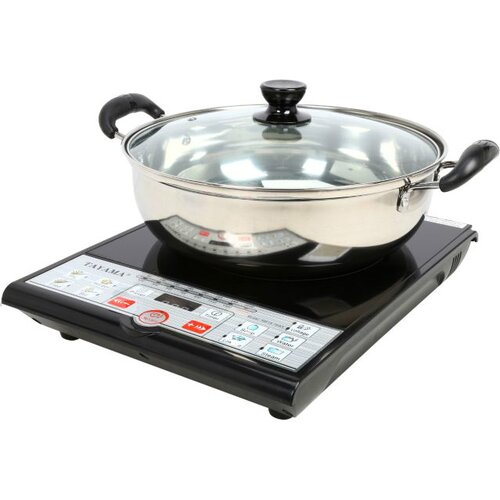 Induction Cooking Pots ~ Induction cooker with cooking pot wayfair