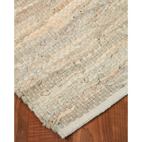 Anchor Rugs: Natural Area Rugs Anchor Leather Hand Loomed Area Rug