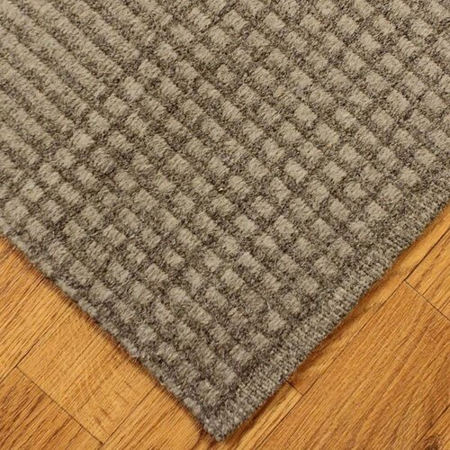 Plaid Rug: Grey Avalon Black/Gray Plaid Area Rug