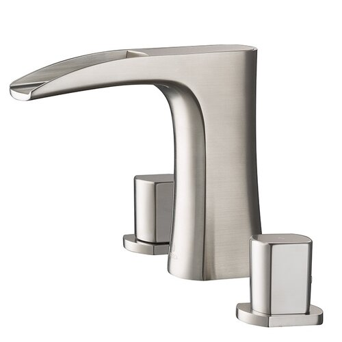 Fresca Fortore Double Handle Widespread Waterfall Faucet Reviews Wayfair