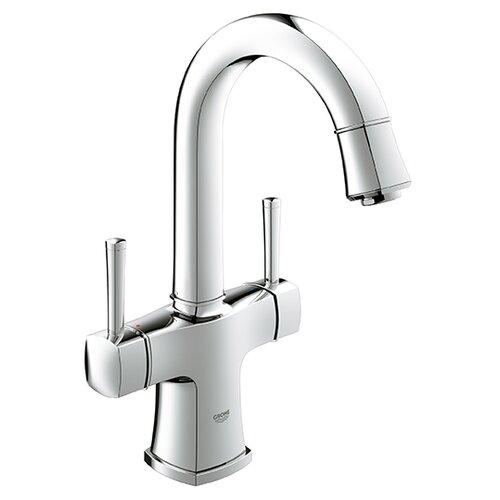 Double Faucet Single Sink : Grandera Double Handle Single Hole Bathroom Sink Faucet Wayfair