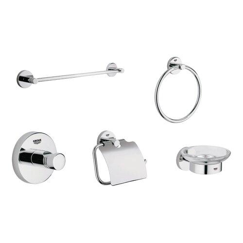 Grohe Essentials 5 Piece Bathroom Hardware Set