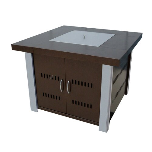 hiland gas fire pit by az patio heaters