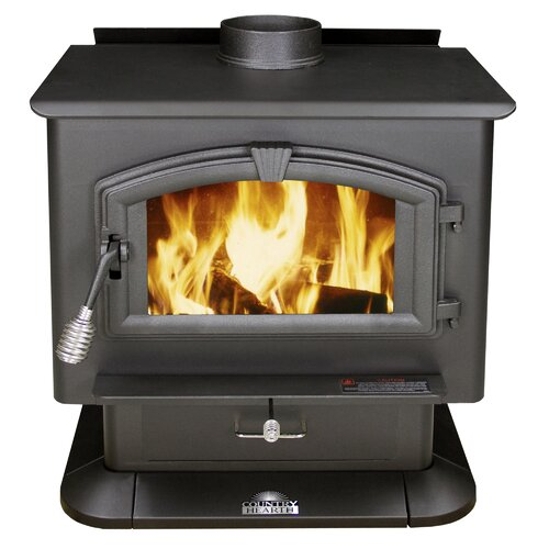 Us stove 2 000 square foot wood stove reviews wayfair for Hardwood floors 2000 sq ft