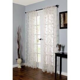 Iman Rod Pocket Single Curtain Panel