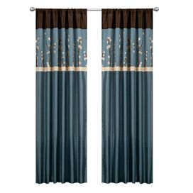 Meridian Doorvoertule Single Curtain Panel