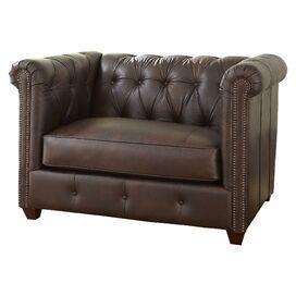 Pratt Leather Ottomaanse