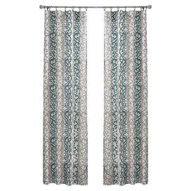 Outdoor Décor Gazebo Doorvoertule Top Single Curtain Panel