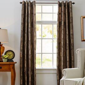 Mia Rod Pocket Curtain Panel  (set van 2)