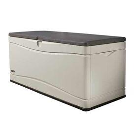 130 Gallon Plastic Deck Storage Box