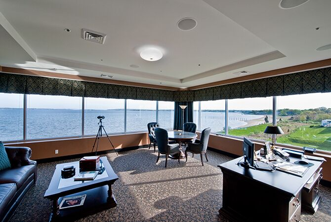 Traditional Home Office photo by Interiors by Paul Chaisson