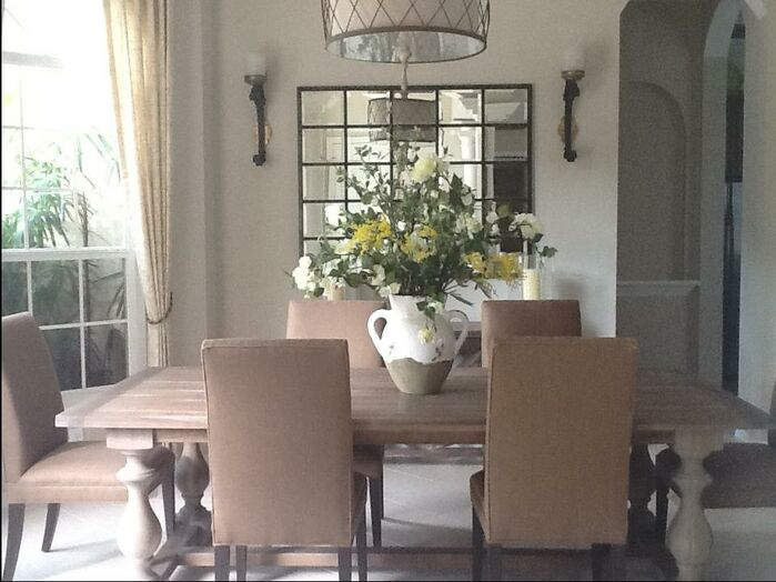 Cottage/Country Dining Room photo by Interiors by Paul Chaisson