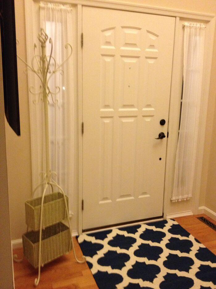 Contemporary Entryway and Hallway photo by Lisa OBrien Interior Designs
