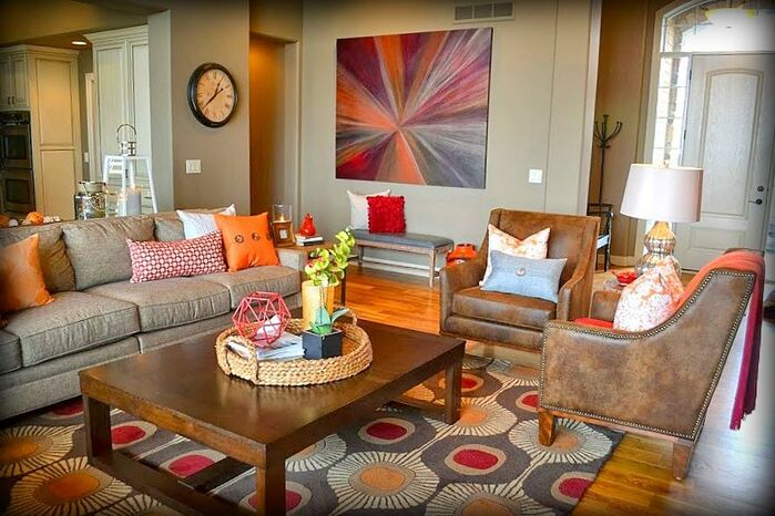Contemporary Living Room photo by Fluff Interior Design and Fluff Your Stuff