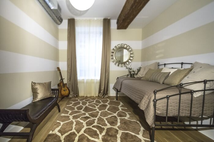Contemporary Bedroom photo by Marie Burgos Design