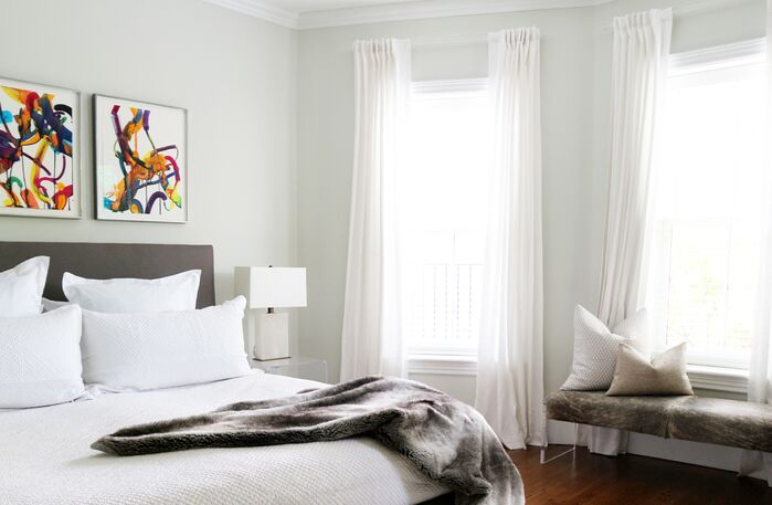 Contemporary Bedroom photo by Victoria Elizabeth Design