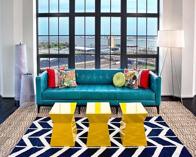 Contemporary Living Room photo by Lauren M. Levine Interiors